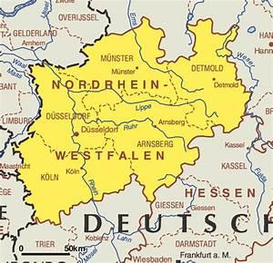 Nord Rhein Westfalen : nordrhein westfalen mapa de estados mapa de alemania ciudades ~ Buech-reservation.com Haus und Dekorationen