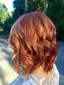 Red Hair With Blonde Highlights Hair Color Pinterest