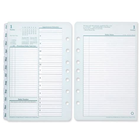 franklin covey classic planner refill
