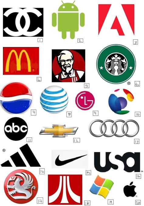 brand quiz sheet google search logo quiz
