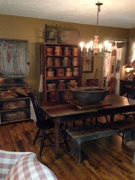 primitive dining rooms ideas  pinterest primitive country decorating primitive curtains  country dining rooms