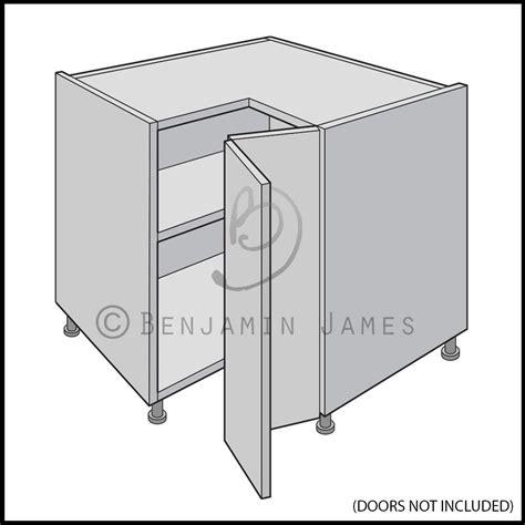kitchen cabinet carcass kitchen carcass unit l shape corner base unit 18mm 2393
