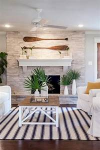 40, Fresh, Lake, House, Living, Room, Decorating, Inspirations