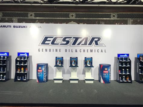 global oil brand ecstar   maruti suzuki arena network