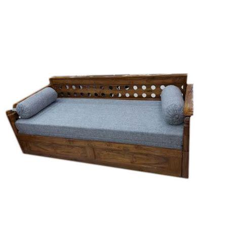 5 Foot Loveseat by Sagawan Wood Sofa Bed Length 5 Rs 40500