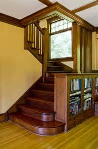craftsman style staircase an early craftsman survives a century with its personality