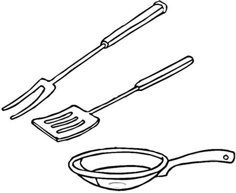 dessin ustensile de cuisine coloriage cuisine les beaux dessins de autres à imprimer