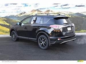 Toyota Rav4 Hybride Black Edition : 2016 black sand pearl toyota rav4 se awd 109872297 photo 3 car color galleries ~ Gottalentnigeria.com Avis de Voitures