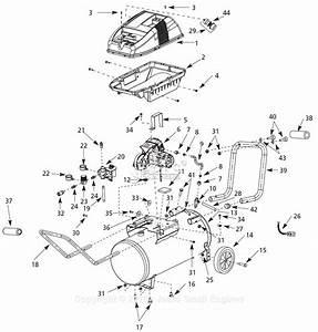 32 Campbell Hausfeld Air Compressor Parts Diagram