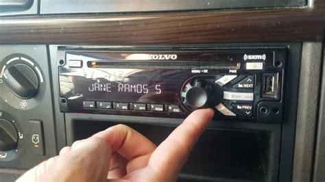 connect volvo vnl  bluetooth radio youtube