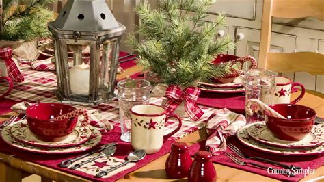 hiring christmas decorating how to create a tablescape a country sler