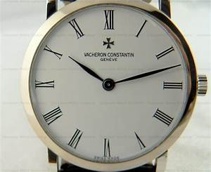 9255  Vacheron Constantin 33093  3 Patrimony Extra Plates Wg