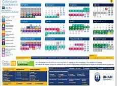 FCM UNAH Embriología Calendario Académico 2014