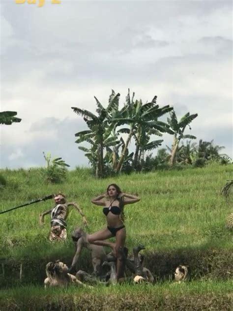 Deretan Foto Seksi Nikita Mirzani Bali Celeb Bintang