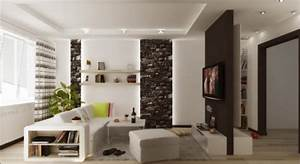 Wohnzimmer Streichen Muster : kleines wohnzimmer modern einrichten tipps und beispiele ~ Markanthonyermac.com Haus und Dekorationen