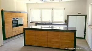 Küchen Mit Glasfront : massivholz k che aus eiche front wall mit glasfront gemischt umbauten aus eisen ~ Watch28wear.com Haus und Dekorationen