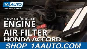 How To Install Repair Replace Engine Air Filter Cleaner