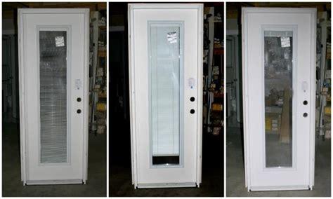 exterior door with blinds between glass bargain codel door with blinds the window door shoppe