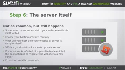 Sucuri Webinar How To Clean Hacked Wordpress Sites