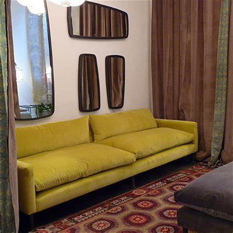 canapé adar caravane lines on this lovely mustard yellow sofa caravane
