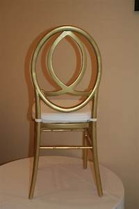 EB INC Events Gold Infinity Chair