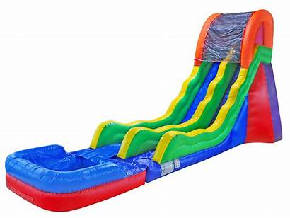 Water Slide Wacky Slides Inflatable Retro Extreme