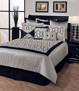 black and white bedrooms pictures ideas home decorate ideas With black and white bedroom decor