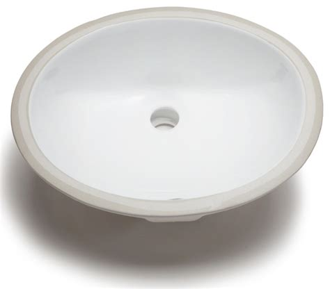 hahn ceramic small oval bowl undermount white bathroom sink contemporary bathroom sinks by