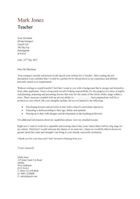 resume business letter letters and format on
