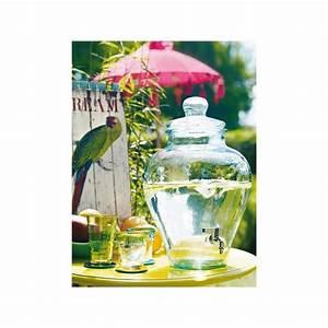 Jarre En Verre : bonbonne jarre 12 litres en verre 100 recycl avec robinet bonbonnes et bonbonni res mcm ~ Teatrodelosmanantiales.com Idées de Décoration