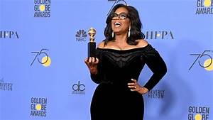 Golden Globes 2018: Watch Oprah Winfrey's Inspirational ...