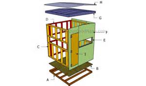 Free 8x8 Shed Plans Pdf by Deer Blind Plans Myoutdoorplans Free Woodworking Plans