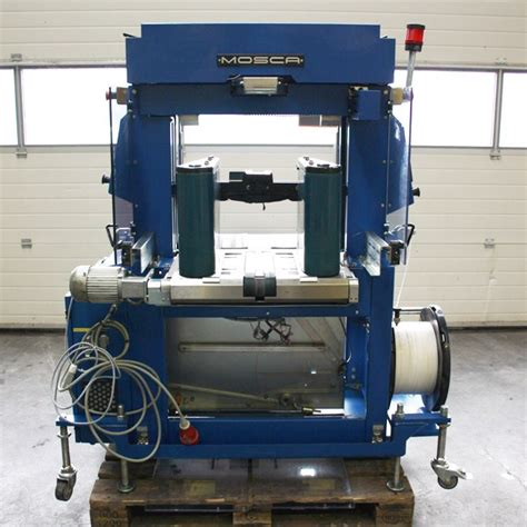 mosca ro tr   strapping machine year  presscity