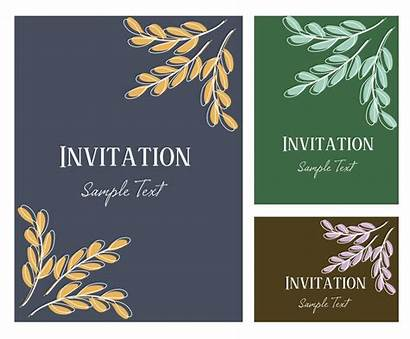 Invitation Card Retirement Party Invitations Vector Illustration