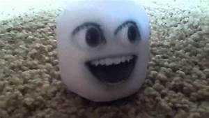 Annoying orange plush key chain Marshmallow - YouTube