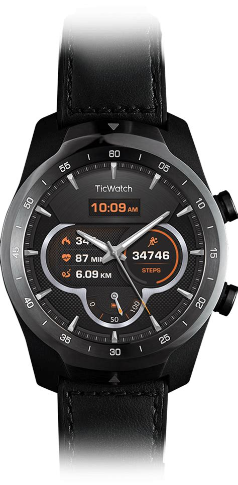 ticwatch pro  premium smartwatch    days