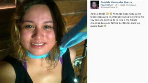 Mental disorders (including depression, bipolar disorder, autism spectrum disorders, schizophrenia, personality disorders, anxiety disorders). México: Joven anuncia su suicidio en Facebook antes de ahorcarse   Mundo   Peru21