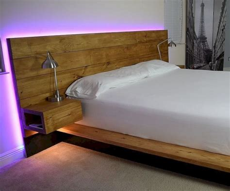 24 Amazing Floating Bed Design Ideas For Cozy Sleeping
