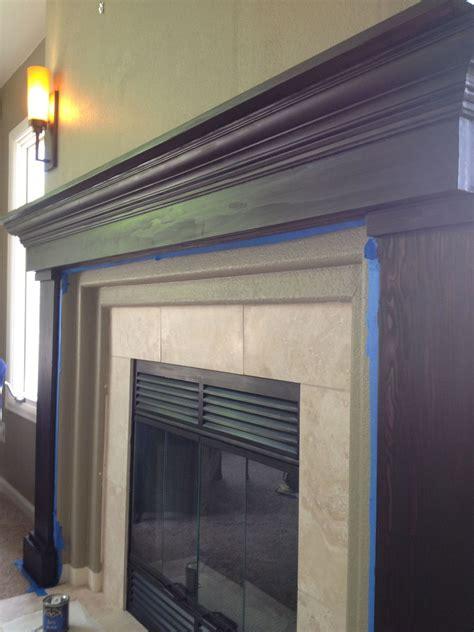 hometalk fireplace redo build   mantel