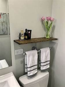 best 25 industrial towel bars ideas on pinterest With kitchen cabinets lowes with paper flower candle holder