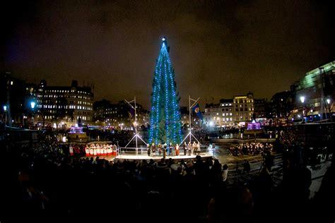 christmas tree lighting ceremony london city hall