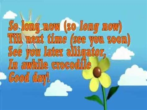 karaoke so now goodbye song for children 767 | df77e3c520aee0aee3db929a6d737fbd kindergarten songs preschool songs