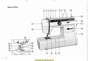 New Home 626 Sewing Machine Instruction Manual
