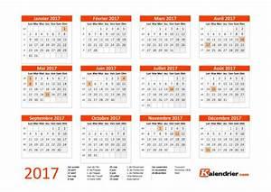 Calendrier Par Mois : le calendrier 2017 imprimer blog du mod rateur ~ Dallasstarsshop.com Idées de Décoration