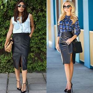 55 Amazing Black Pencil Skirt Outfit Ideas | Style Tips u0026 Outfits - GlossyU
