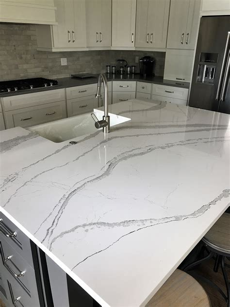 Cambria Brittanicca Quartz Kitchen Countertops   Stone