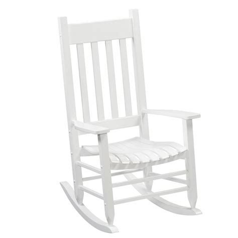 shop garden treasures one porch white wood slat seat
