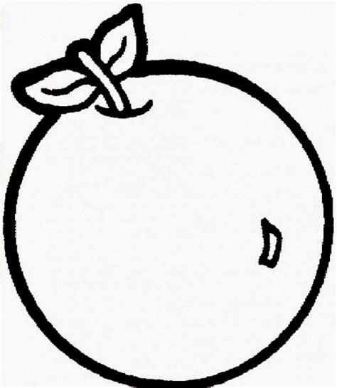 kumpulan gambar mewarnai buah jeruk apel dll