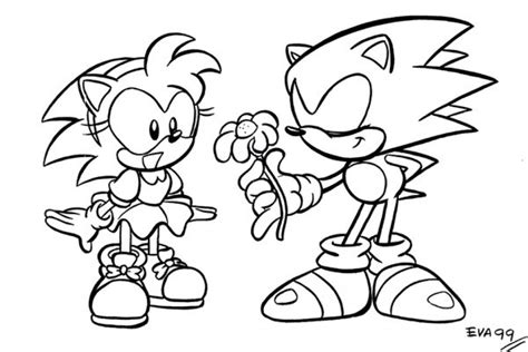 Get This Online Printable Sonic Coloring Pages For Kids