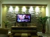 steinwand wohnzimmer kleben bilder eurer steinwände kiesbetten racks gehäuse hifi forum seite 30